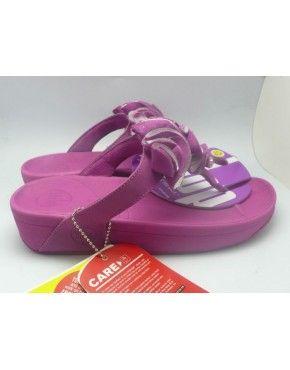 2014 New Fitflop Frou Flower Sandals Purple Online