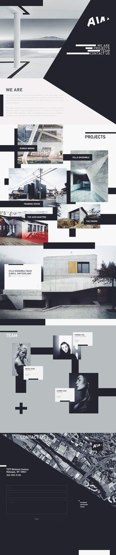 AW/Architectural Website Design