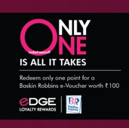 Axis Bank Jabong eDGE Loyalty Rewards Rs. 100 Jabong e-Voucher for 1 Point - Best Online Offer