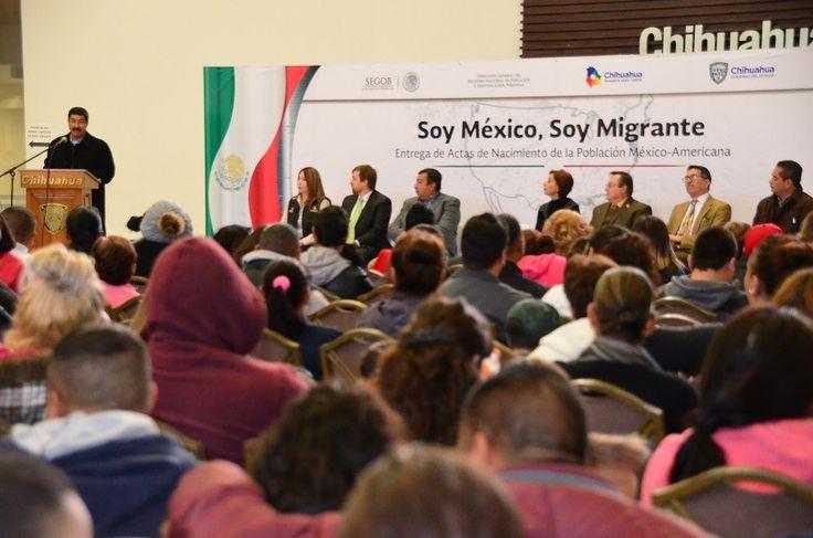 Entregarán primeras actas de nacimiento de doble nacionalidad Soy México   El Puntero