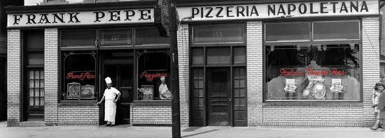 Frank Pepe Pizza in New Haven, Conneticut