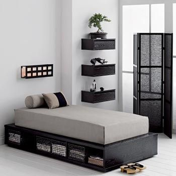 Japanese apartment interior design 03: Where can I get that bed?!