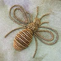 gold work bee - Google Search