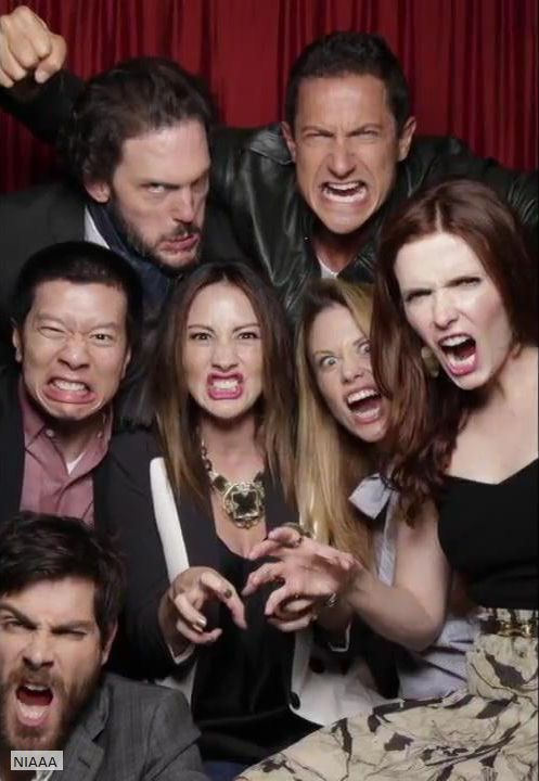 Silas Weir Mitchell, Sasha Roiz, Reggie Lee, Bree Turner, Claire Coffee, Bitsie Tulloch and David Giuntoli
