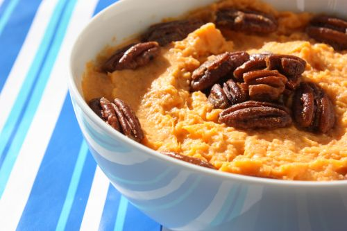 Vanilla Mashed Sweet Potato   Thanksgiving   Pinterest