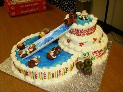 Water Slide Birthday Cake Ideas
