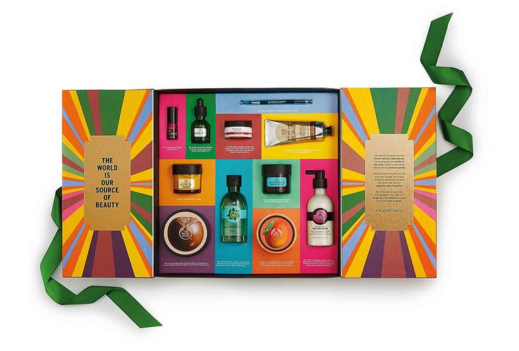 Get a jump start on your holiday shopping with this gorgeous gift set from The Body Shop.