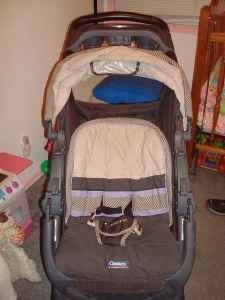 STROLLER WITH EXTRA SEAT IN REAR - $85 (SOUTH BEND)