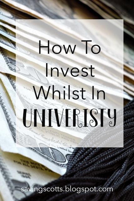 Are you in university and wanting to build up your investment portfolio. Not sure how to build up your savings port or where best to invest. There are so many options but which ones are best for a univeristy student? Learn how to invest whilst in university.