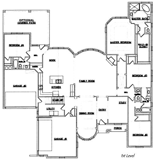 44 best 4 6 Bedroom House Plans images on Pinterest
