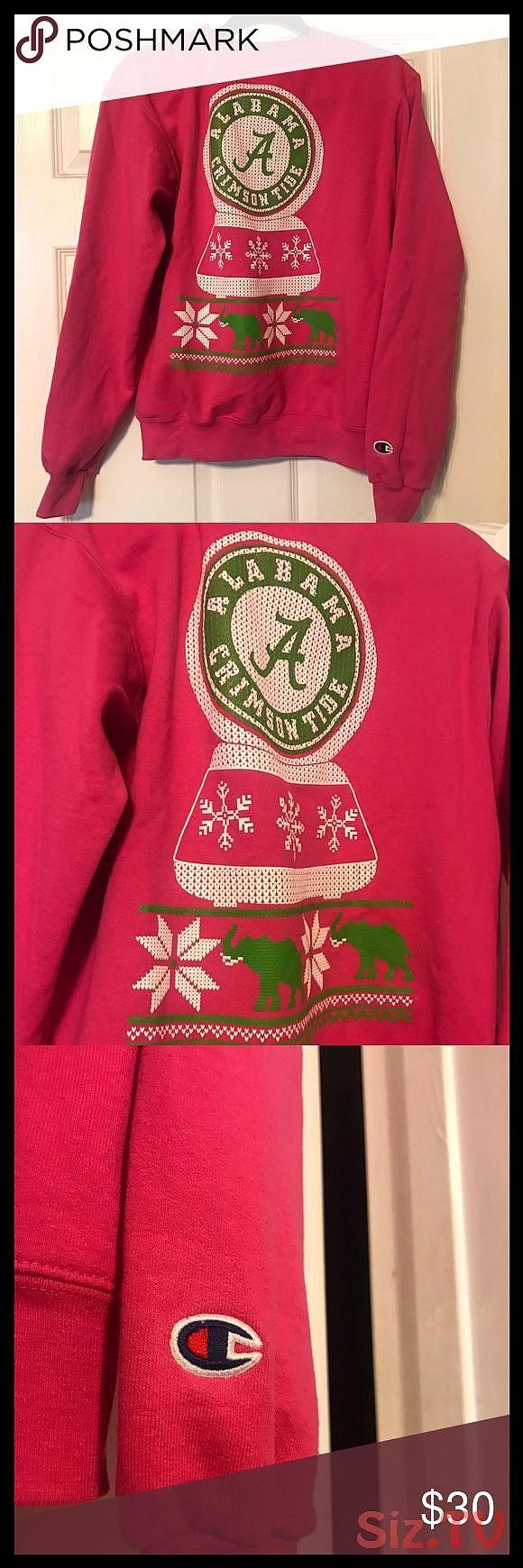 Alabama Crimson Tide Champion Sweatshirt Alabama Crimson Tide Champion Sweatshirt Colors Are Hot Pink Wit Champion Sweatshirt Sweatshirts Alabama Crimson Tide [ 1740 x 580 Pixel ]