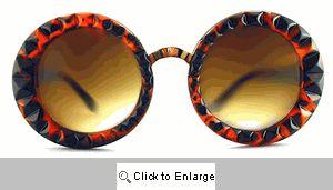 Reprise Textured Designer Sunglasses - 444 Tortoise