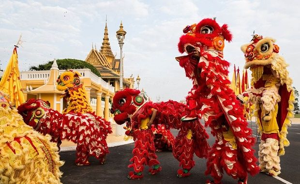 Chinese New Year in Asia