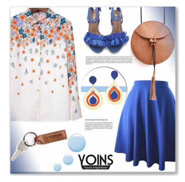 """""""Yoins"""" by sherri40 ❤ liked on Polyvore featuring Topshop and yoins"""