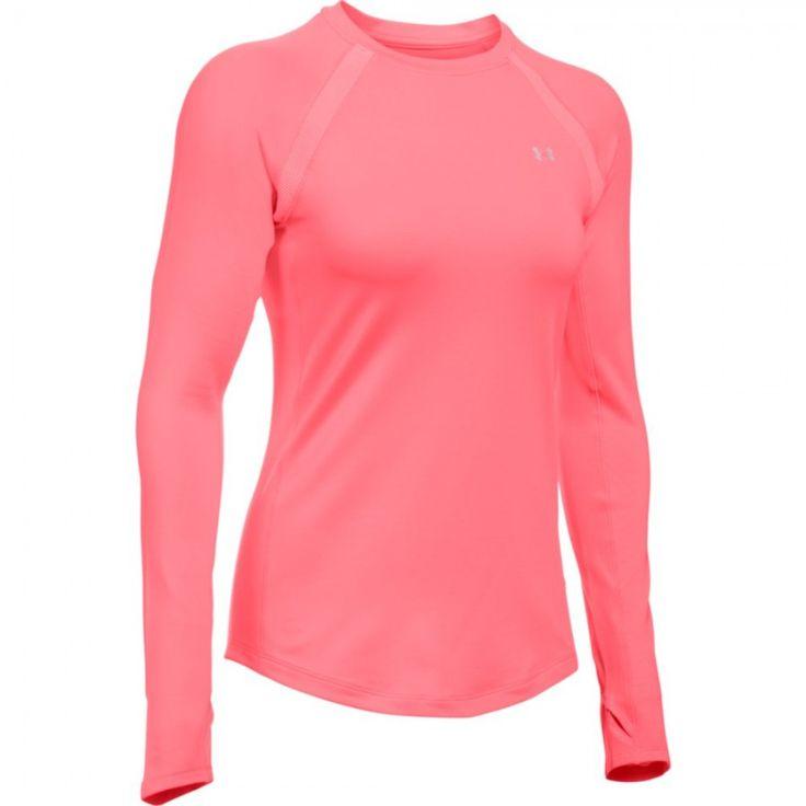 Dámské tričko Under Armour ColdGear růžové