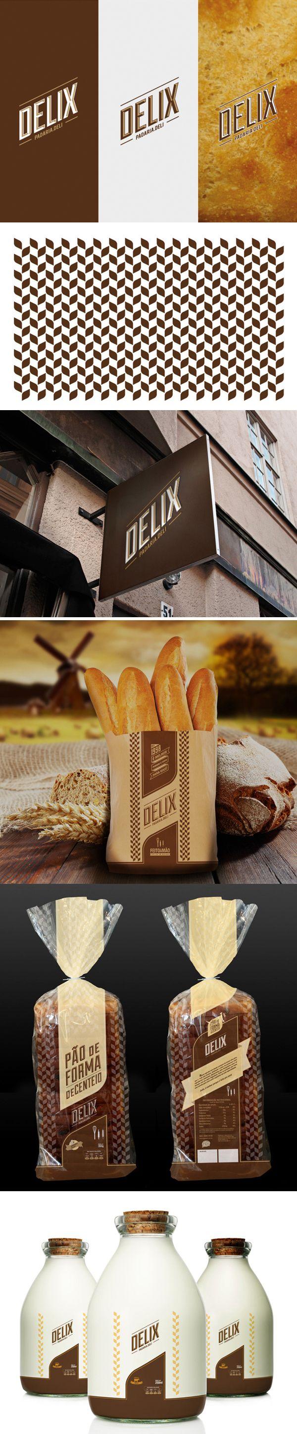 U / delix bakery | #stationary #corporate #design #corporatedesign #identity #branding #marketing < repinned by www.BlickeDeeler.de | Take a look at www.LogoGestaltung-Hamburg.de