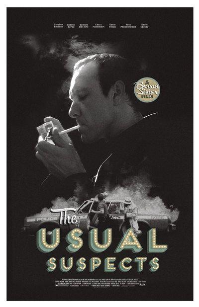 The Usual Suspects alternative movie poster by TheArtOfAdamJuresko