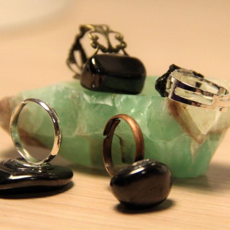 Buy shungite rings - Karelian Heritage Jewelry $12.90