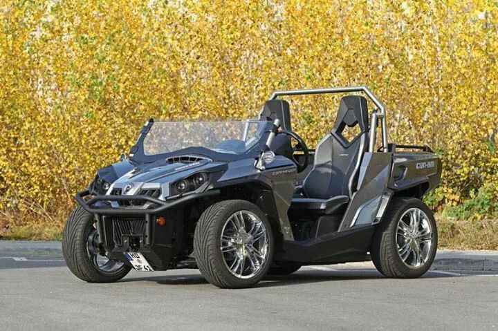 Now this can am commander makes a cool grocery getter.
