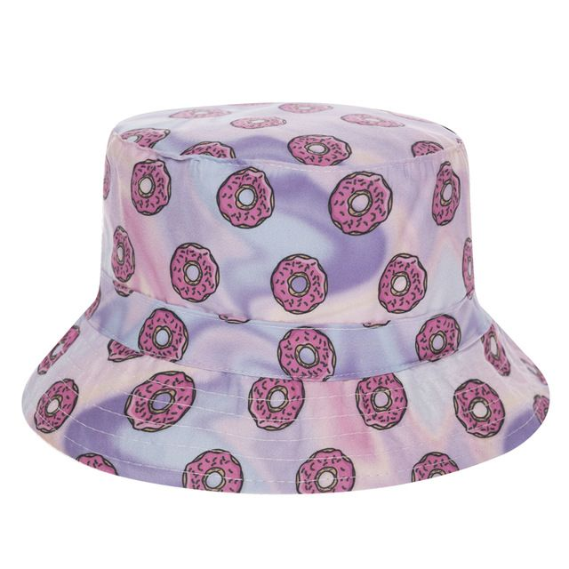 Special price New Flat Bucket Hat Men Women 3D Printed Holo Donuts Bob Beach Hip Hop sombrero pescador Panama Girls just only $5.37 with free shipping worldwide  #womanaccessories Plese click on picture to see our special price for you