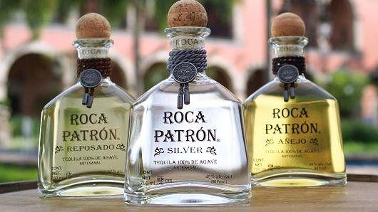 El Tequila Roca Patrón Añejo, Reposado y Blanco.