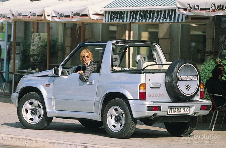 SUZUKI Vitara Cabrio - 1989, 1990, 1991, 1992, 1993, 1994, 1995, 1996, 1997, 1998 - autoevolution