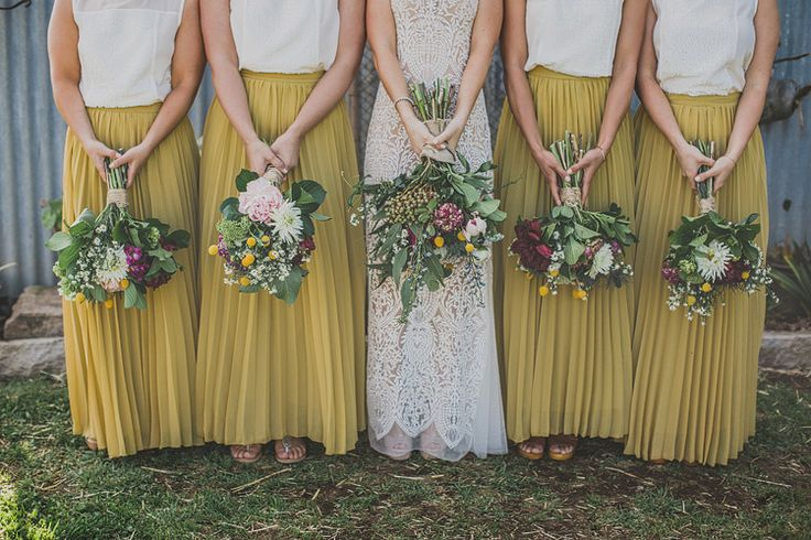 Gorgeous bridesmaid outfits