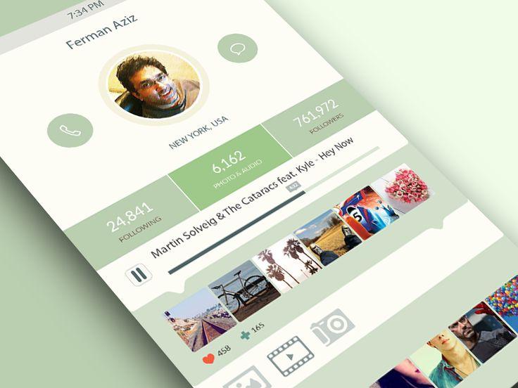 iOS7 App Design by Ferman Aziz