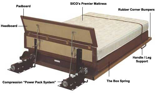 1000 Images About Home Bed Hidden Bed On Pinterest