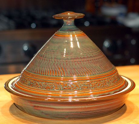 Tagine cooking means low-and-slow cooking, with very little fat or liquid compared with other cooking methods.