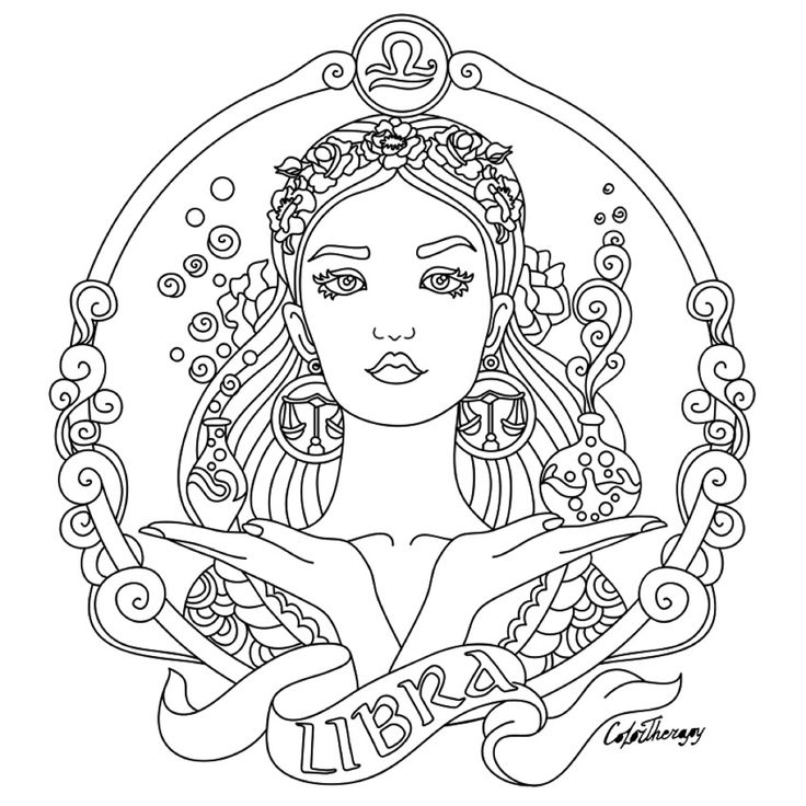 Book Cover Printable Zodiac ~ Best images about coloring page on pinterest