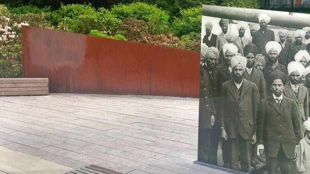 Komagata Maru memorial defaced days before centennial ceremonies