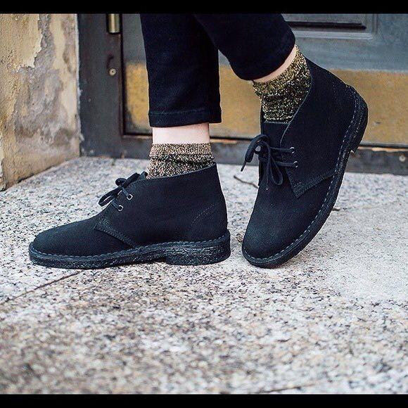 Womens Clarks Desert Boots NIB