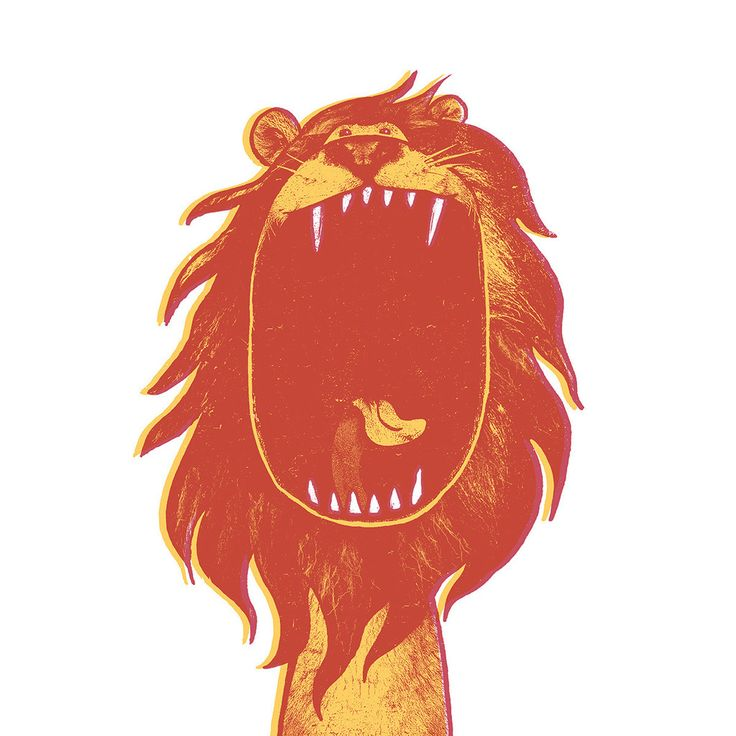 Lion Art Print | Factory 43