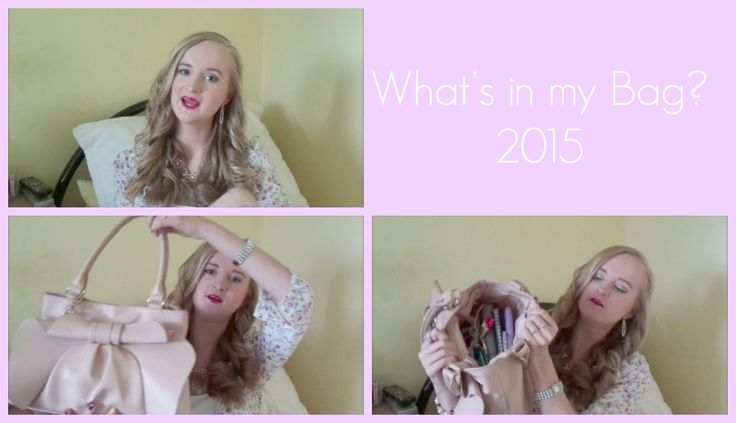 What's in my Bag? 2015 | Retro Bombshell TV