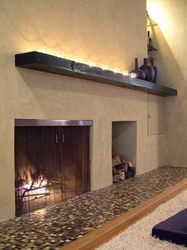 custom fireplace designs. custom fireplace screen - contemporary accessories portland cascade coil drapery designs i
