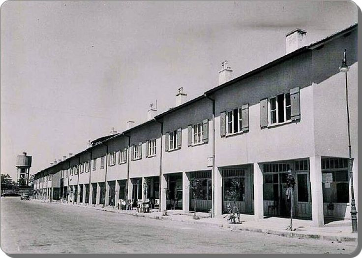 1. Levent Çarşı caddesi - 1950 ler