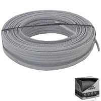 Romex Building Wire, UF-B 10/2 by Essex Electric Inc. $253.18. Type THHN insulation, rated 90 degrees Celsius, 600 volts. Gray PVC jacket. For applications of direct burial, dwellings not exceeding 3 floors above grade, underground feeder to outdoor lighting or apparatus, exposed or concealed wiring in damp, moist, wet, dry, and corrosive locations, general branch circuit wiring and new wiring or replacement wiring. Flame retardant, moisture, fungus, and corrosion resist...
