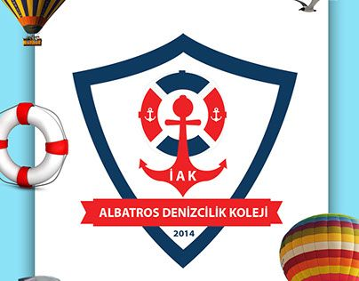"Check out new work on my @Behance portfolio: ""İZMİR ALBATROS DENİZCİLİK LİSESİ LOGO"" http://be.net/gallery/33737302/ZMR-ALBATROS-DENZCLK-LSES-LOGO"