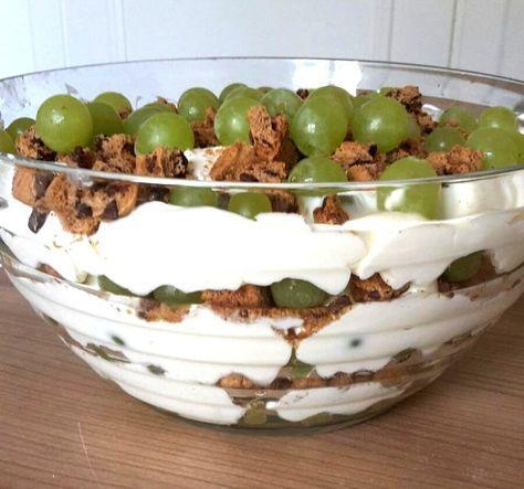 Trauben-Dessert zum direkt verputzen oder mitbringen