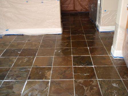 Slate Tile, How to Clean Slate Floors, Slate Tile Cleaning, Sealing Slate