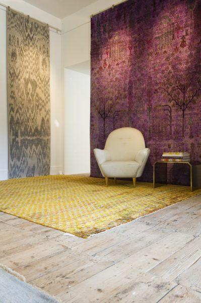 The Arcadia Rug in our Pimlico Road showroom – Luke Irwin