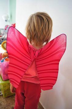 MammaViò: Ali da farfalla o da fata fai da te
