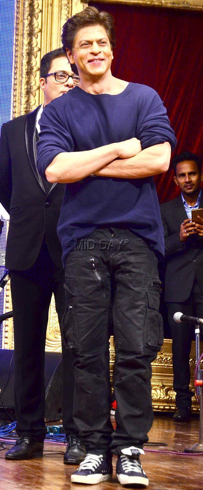 My Darling-  Shah Rukh Khan... he is too cute..!!