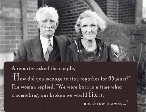 The key to long lasting #love - If it's broken fix it, don't throw it away #SacredLoving
