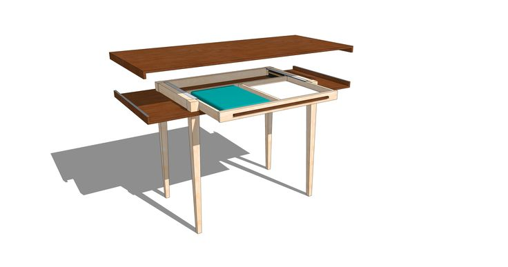 Desk by Jean-Paul Corel