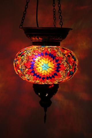 Istanbul Turkish Mosaic Lamp Shade