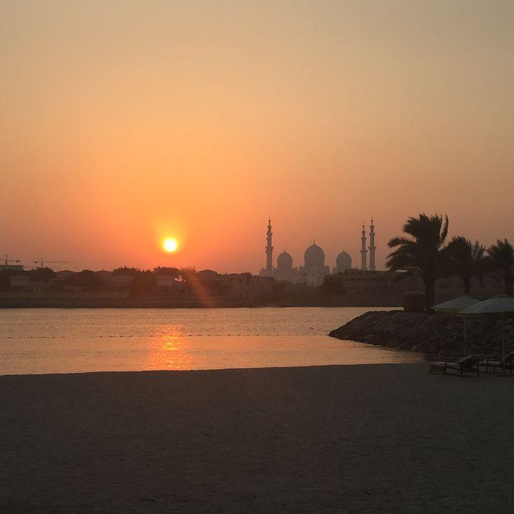 A postcard from Abu Dhabi - a lovely half term break