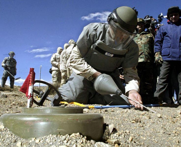 Chile retiró 80% de las minas instaladas en la frontera con Bolivia - La Nación (Chile)
