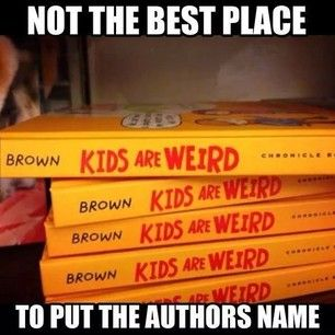 This slightly awkward book spine design. | 19 Unbelievably Laughable Book Fails